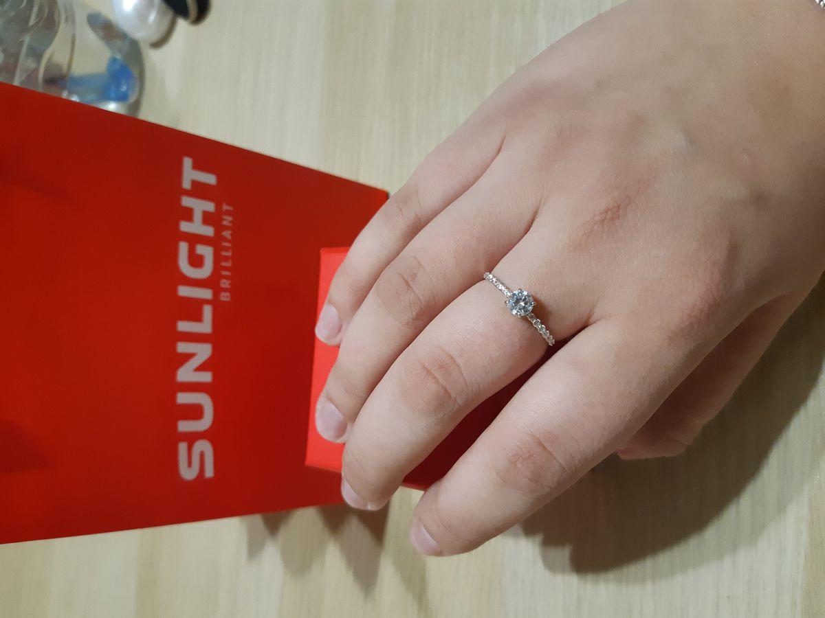 Красивое кольцо, быстрая доставка