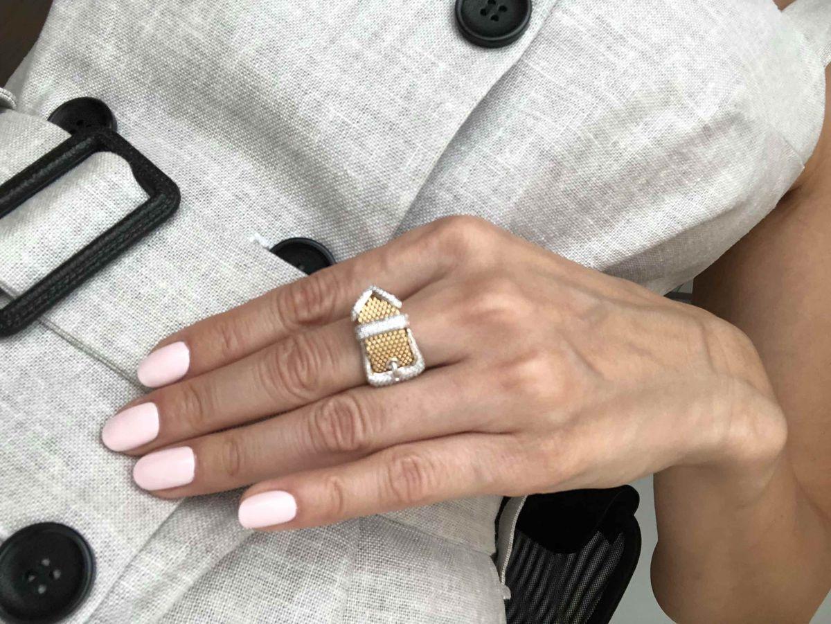 Супер стильное кольцо!