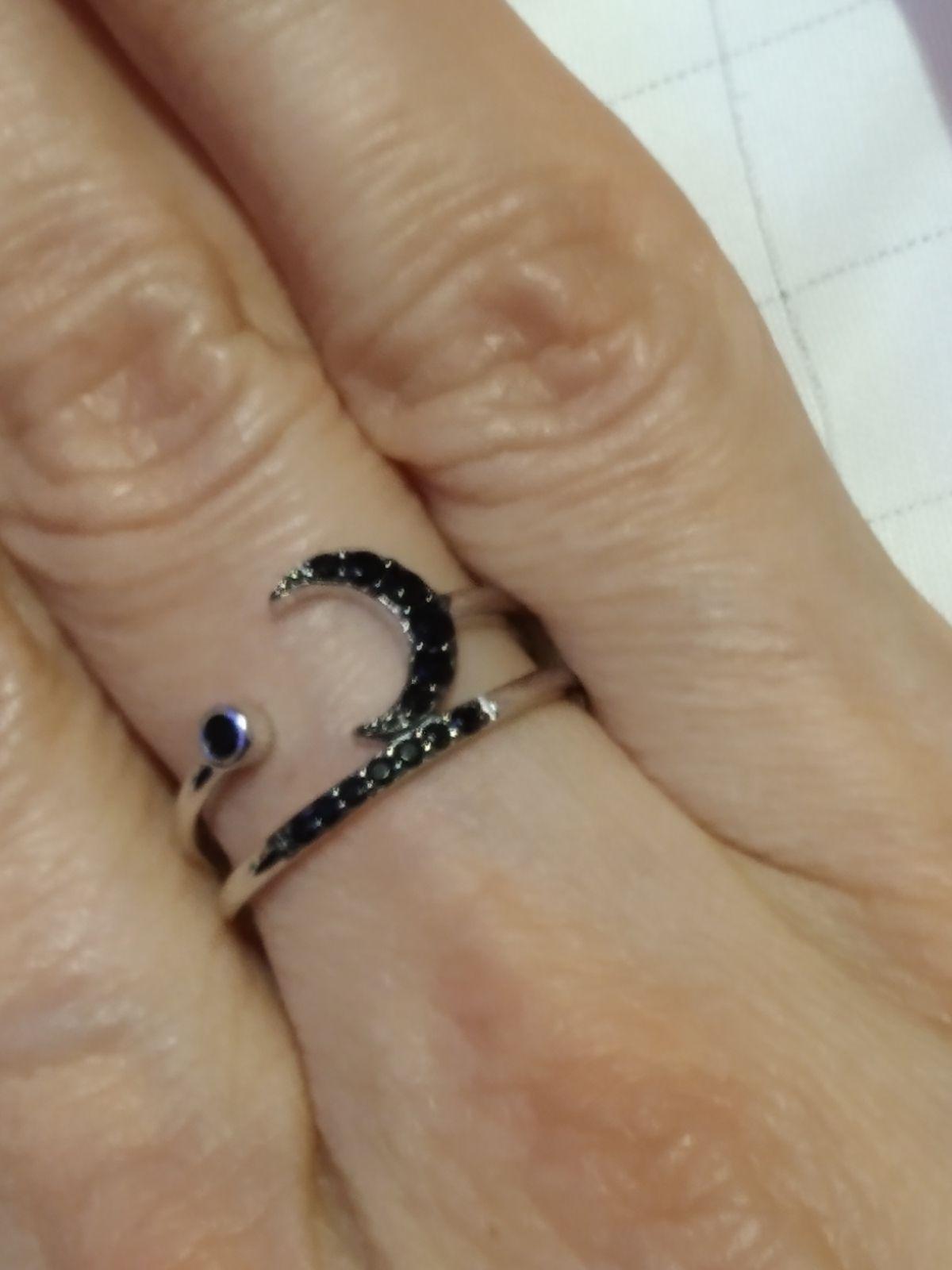 Кольцо и серьги с луной