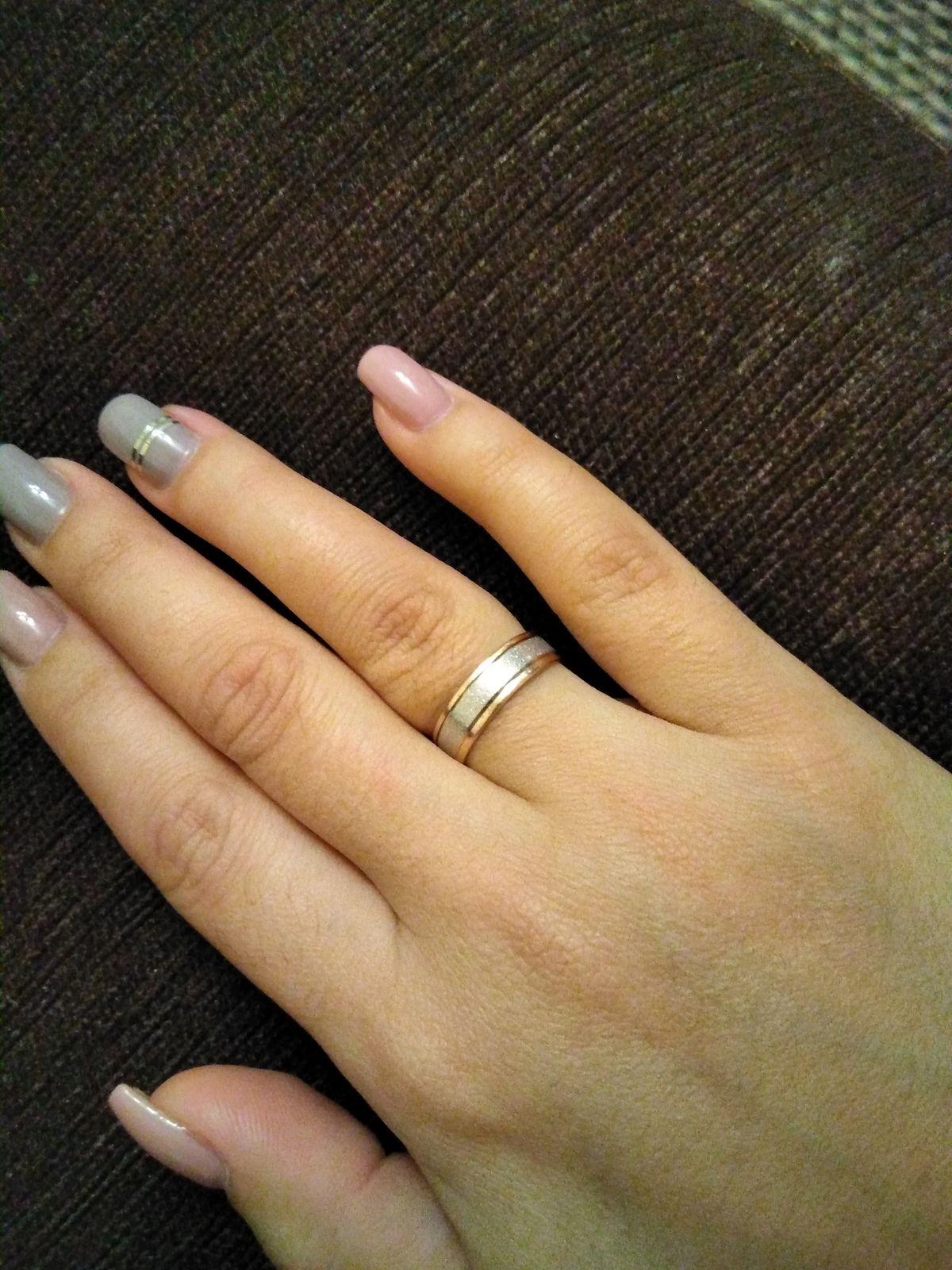 Самое необычное обручальное кольцо!