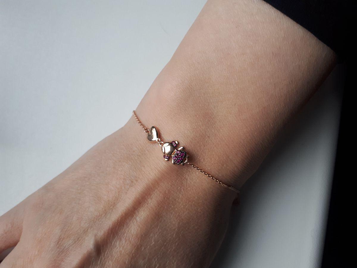 Красивый браслет для мамы принцессы.👸
