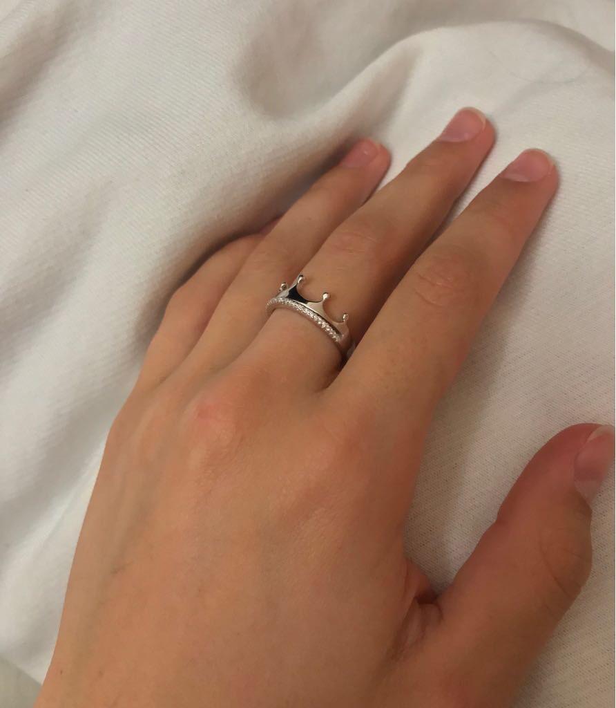Безумно нежное и интересное кольцо!