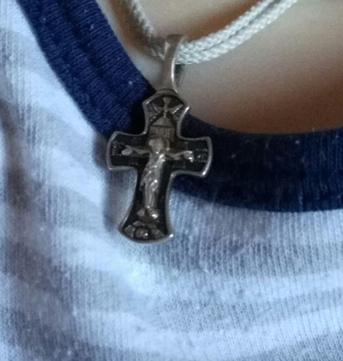 Крестик для сына!