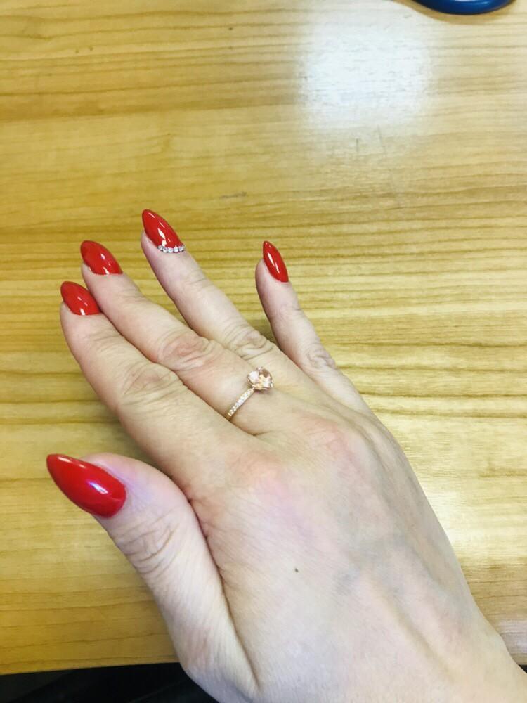 Кольцо для нежной девушки