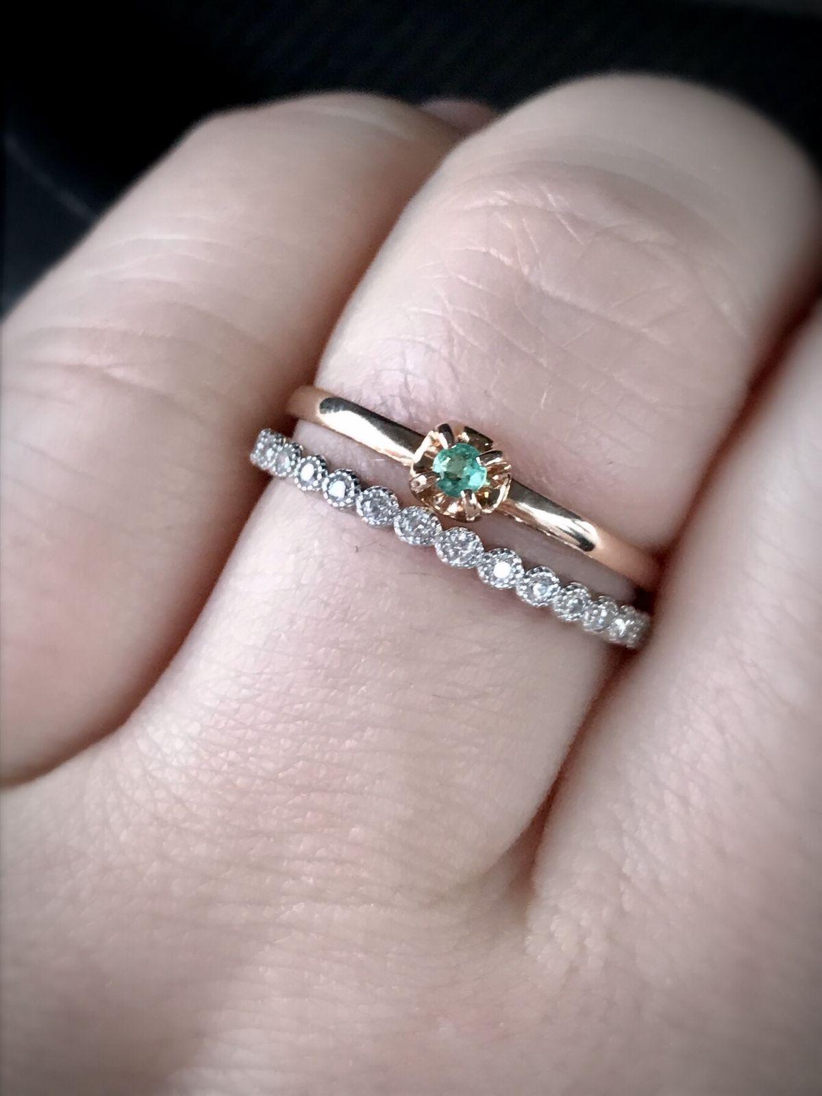 Красивое базовое кольцо