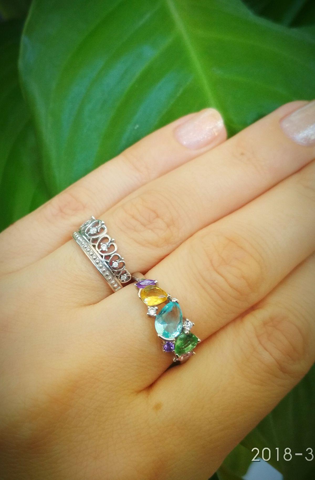 Это кольцо - моя любовь!