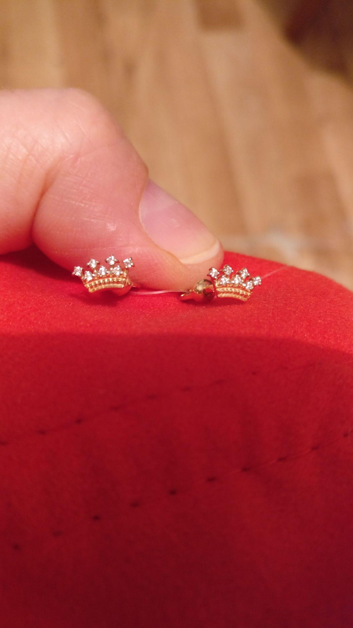 Сережки для принцесс