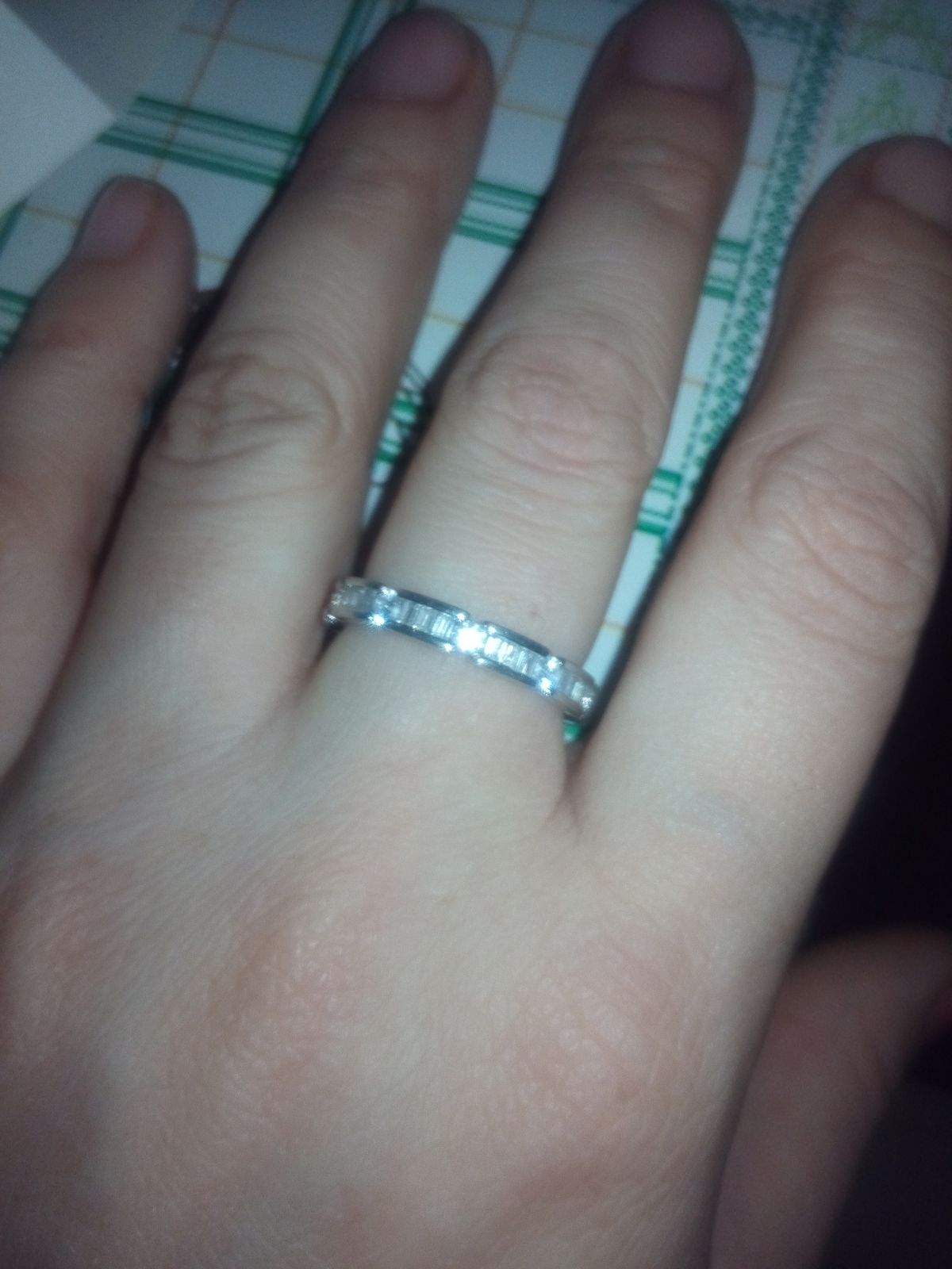 Кольцо, милое кольцо.