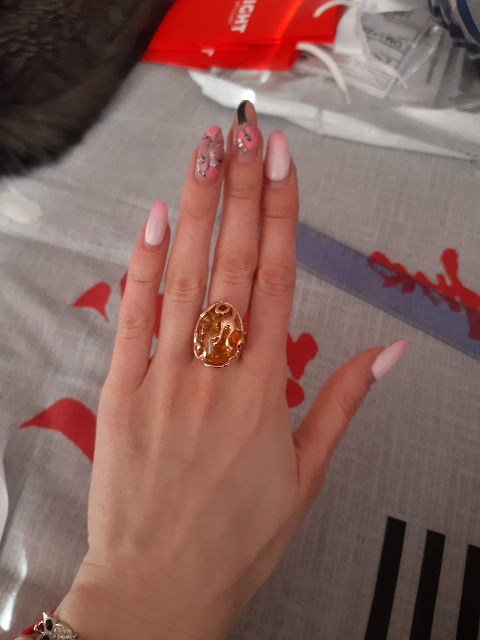 Кольцо+серьги