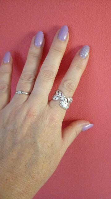 Матовое серебро-это стильно!