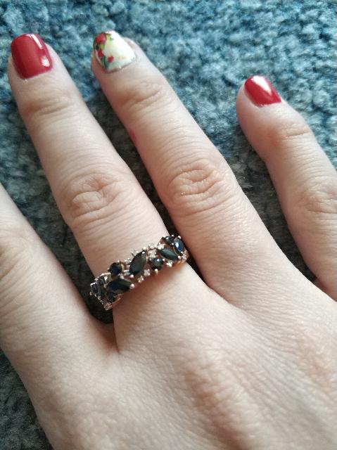 Сапфировое кольцо