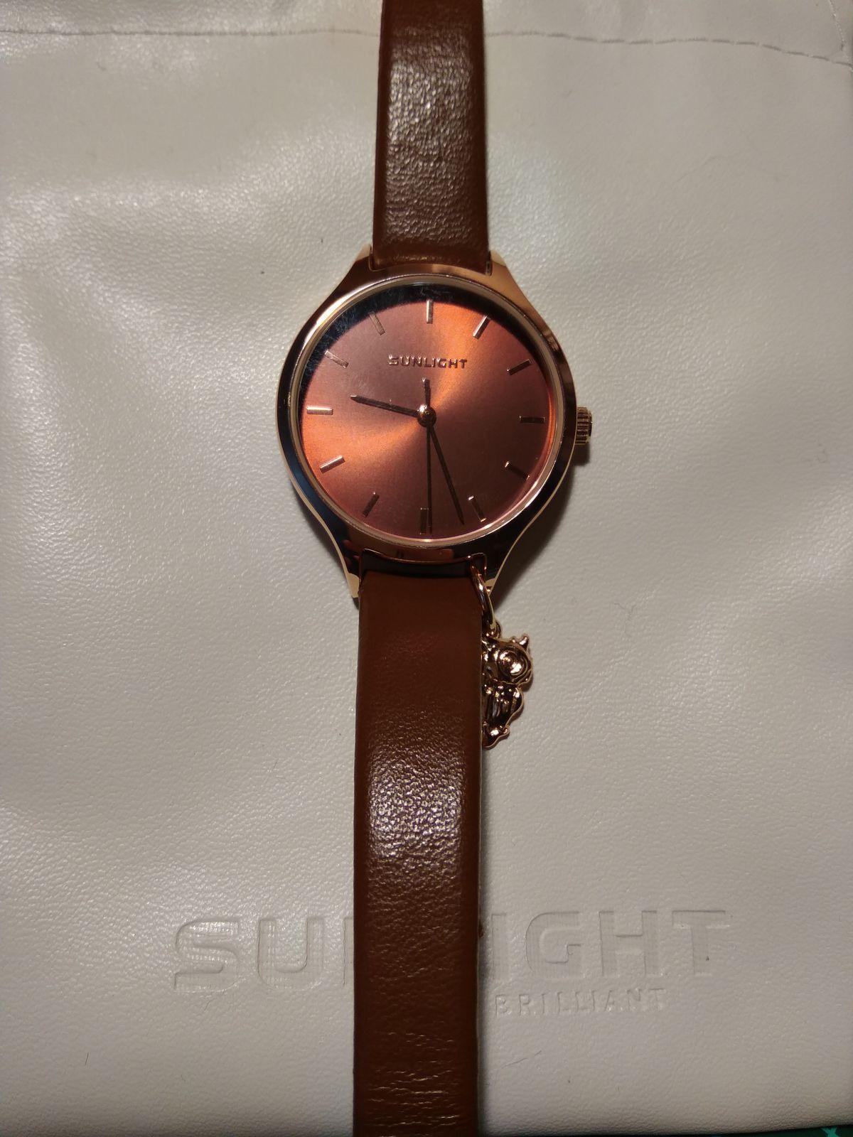 Замечательная покупка - милые часы с совушкой ;)