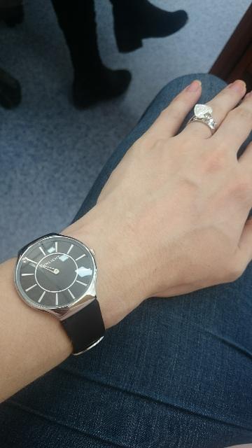 Очень стильные и удобные часы!