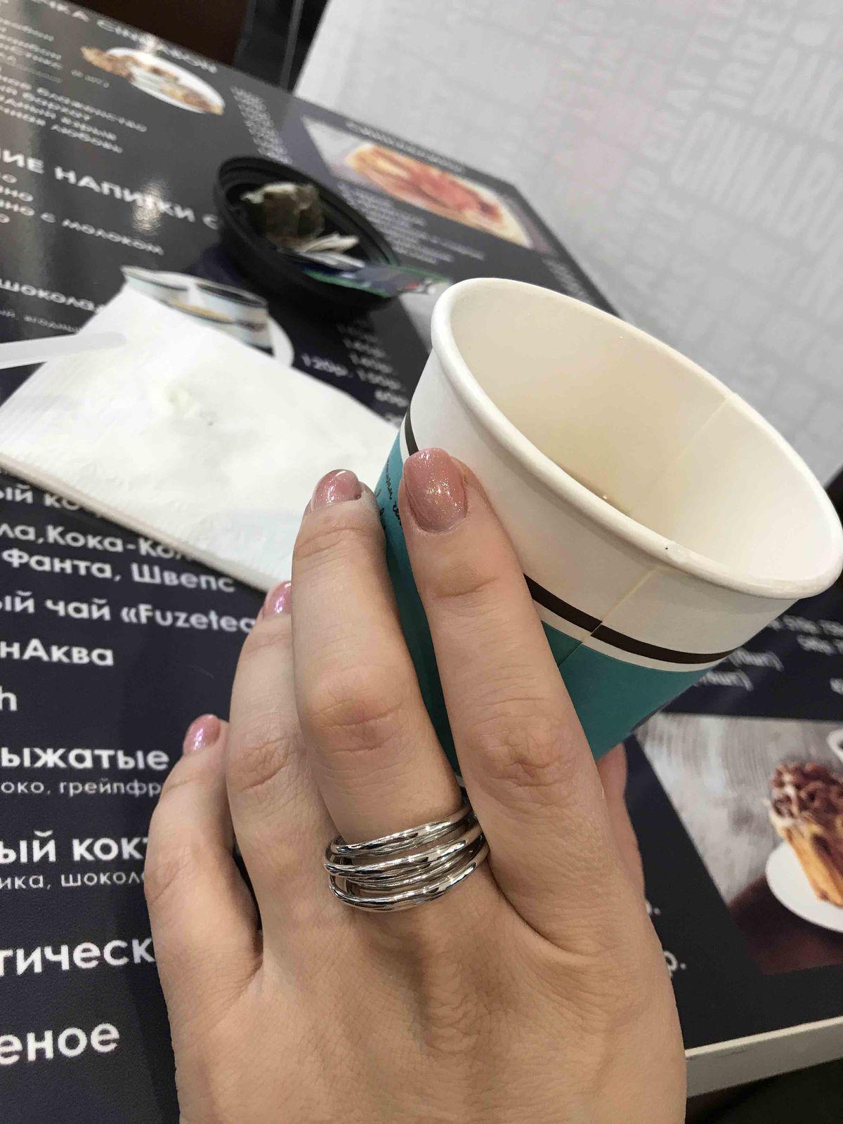 Колечко серебро