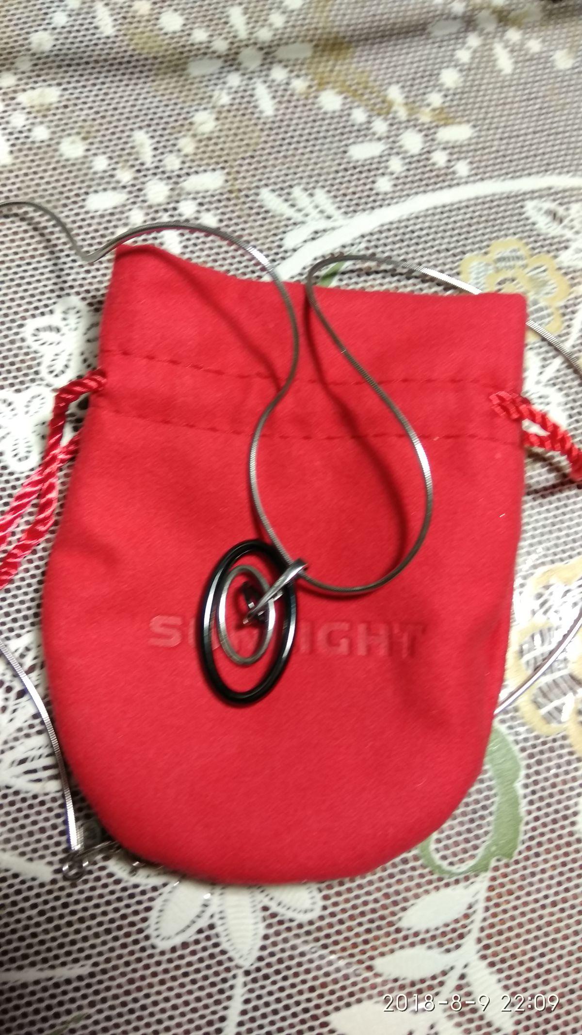 В дополнение к подвеске или подвеска дополняет цепочку! решайте сами👍👍👍