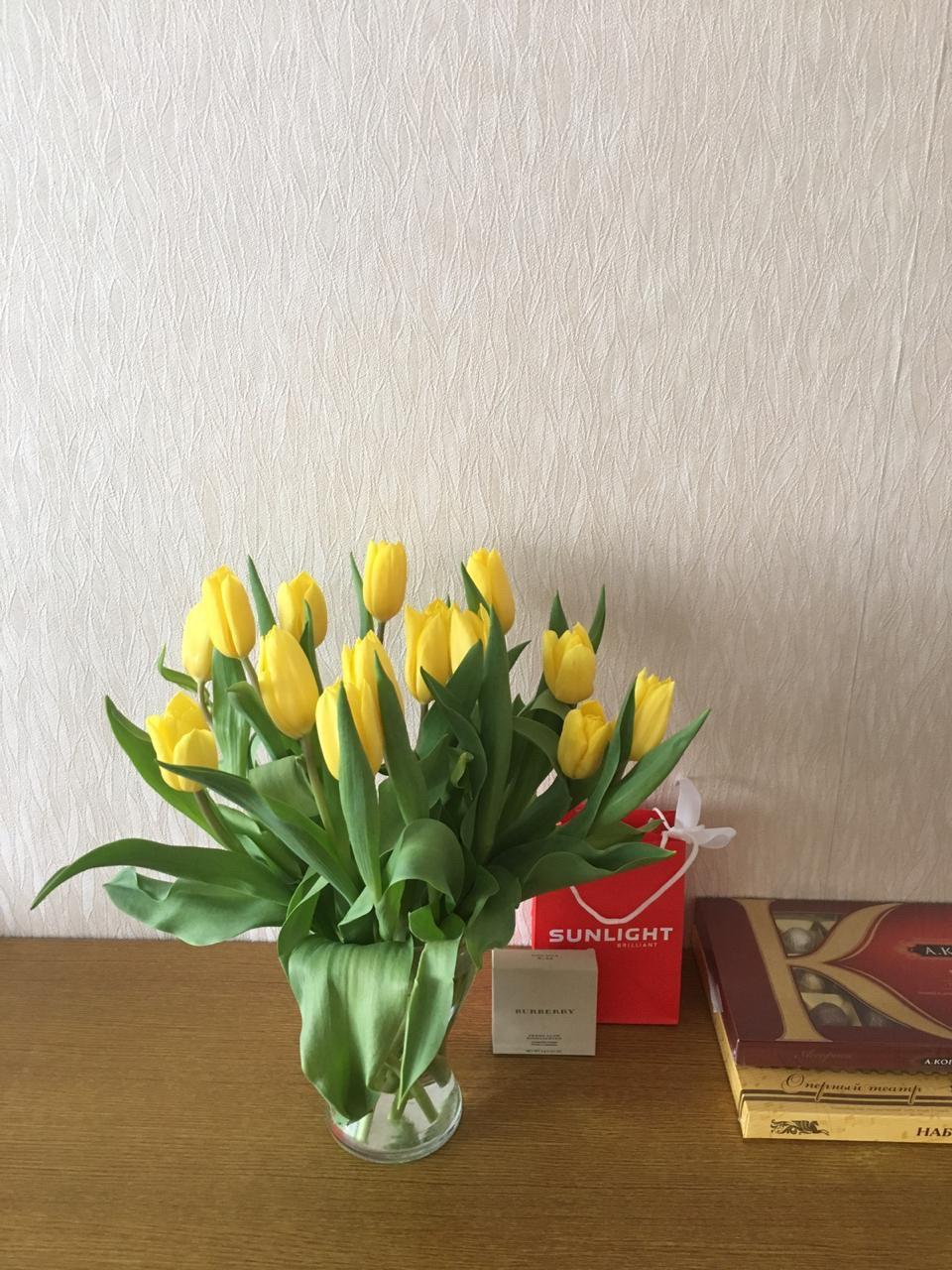 Купил подарок маме на 8 марта
