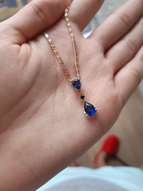 Сапфиры и бриллианты 💞