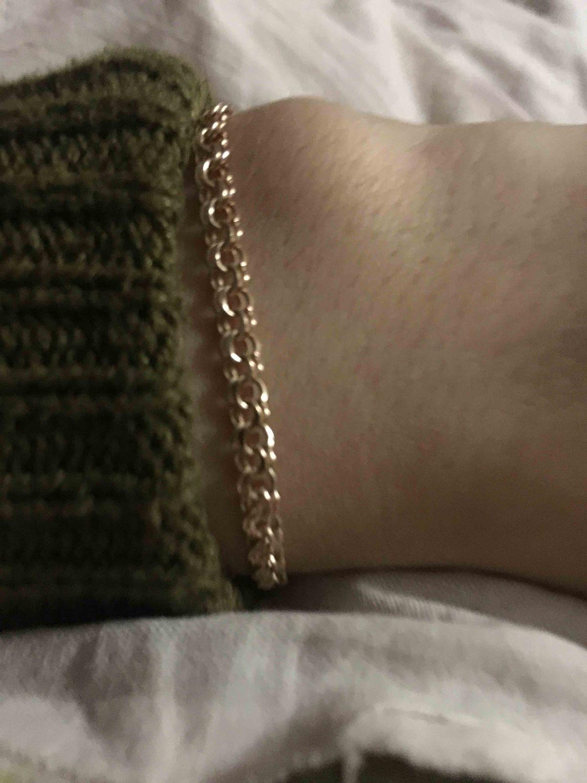 Красивый золотой браслет *_*