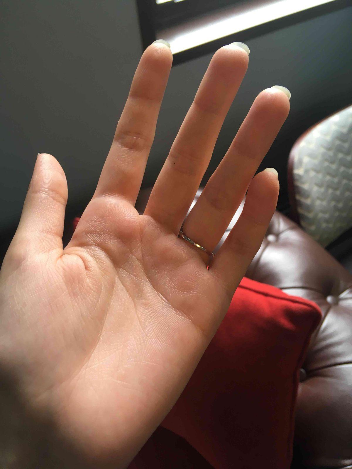 Очень нежное и миниатюрное кольцо