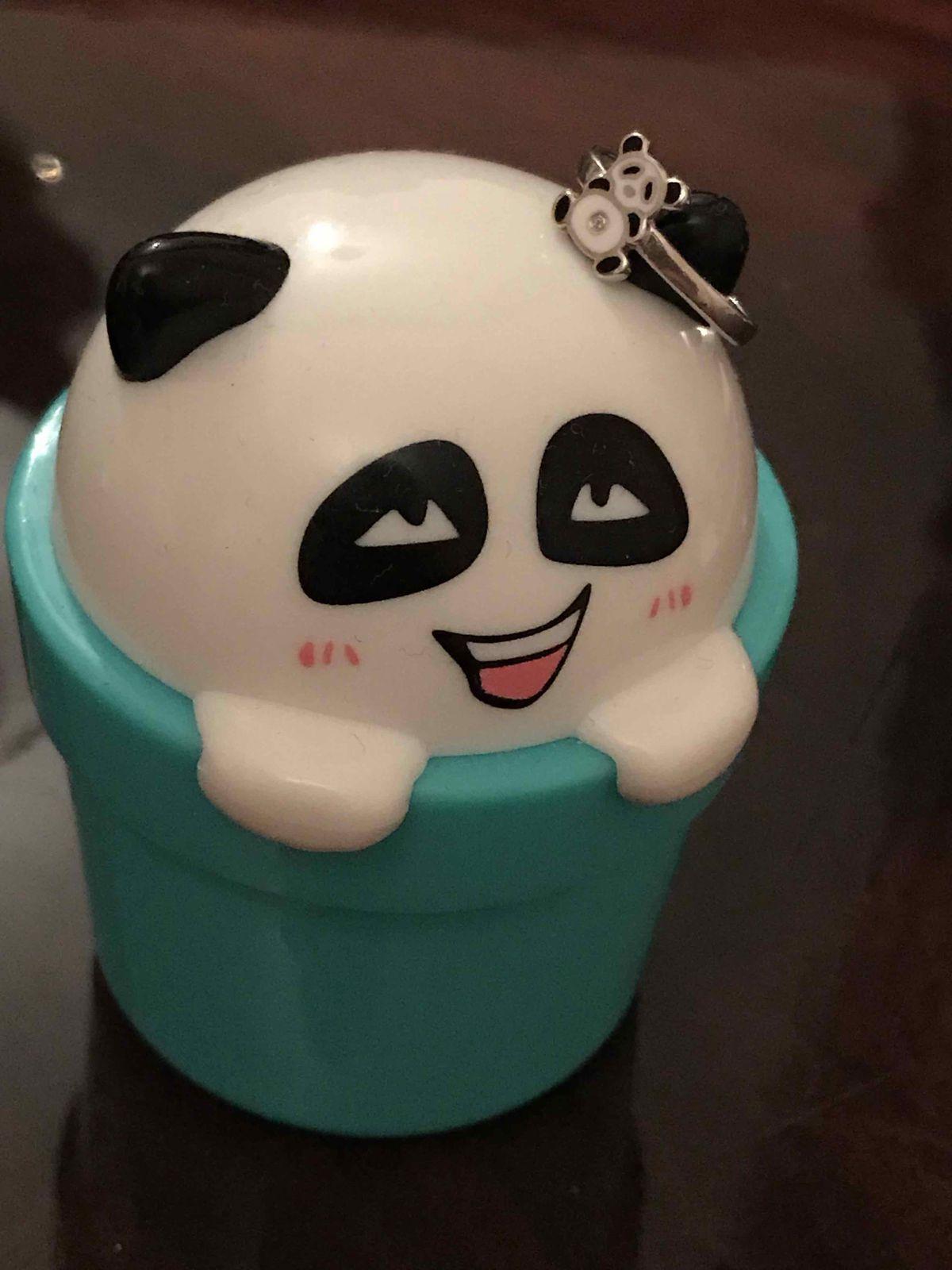 Колечко панда