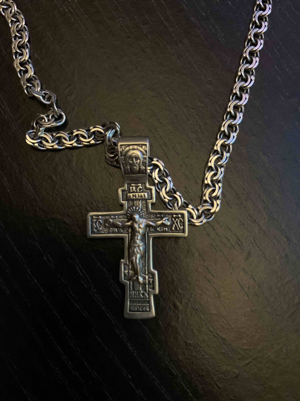 Купил крестик