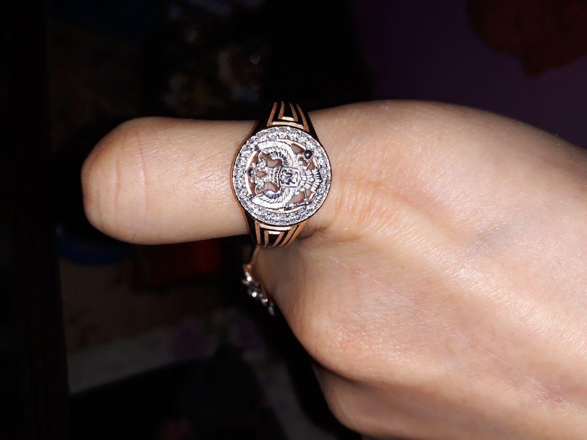Достойный перстень для достойного мужчины!