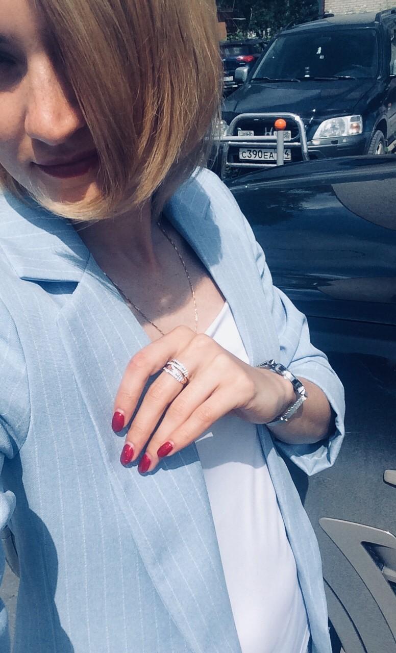 Очень довольна кольцом!!!