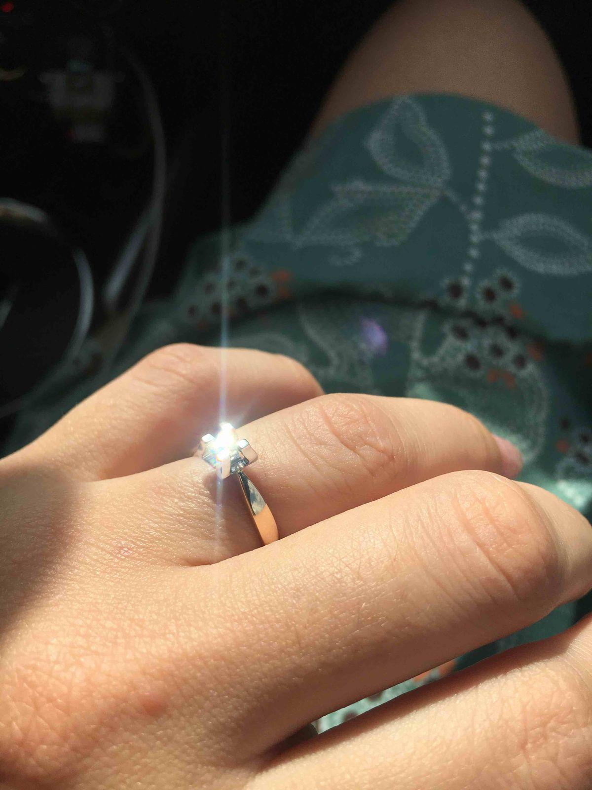 Необычное красивое кольцо