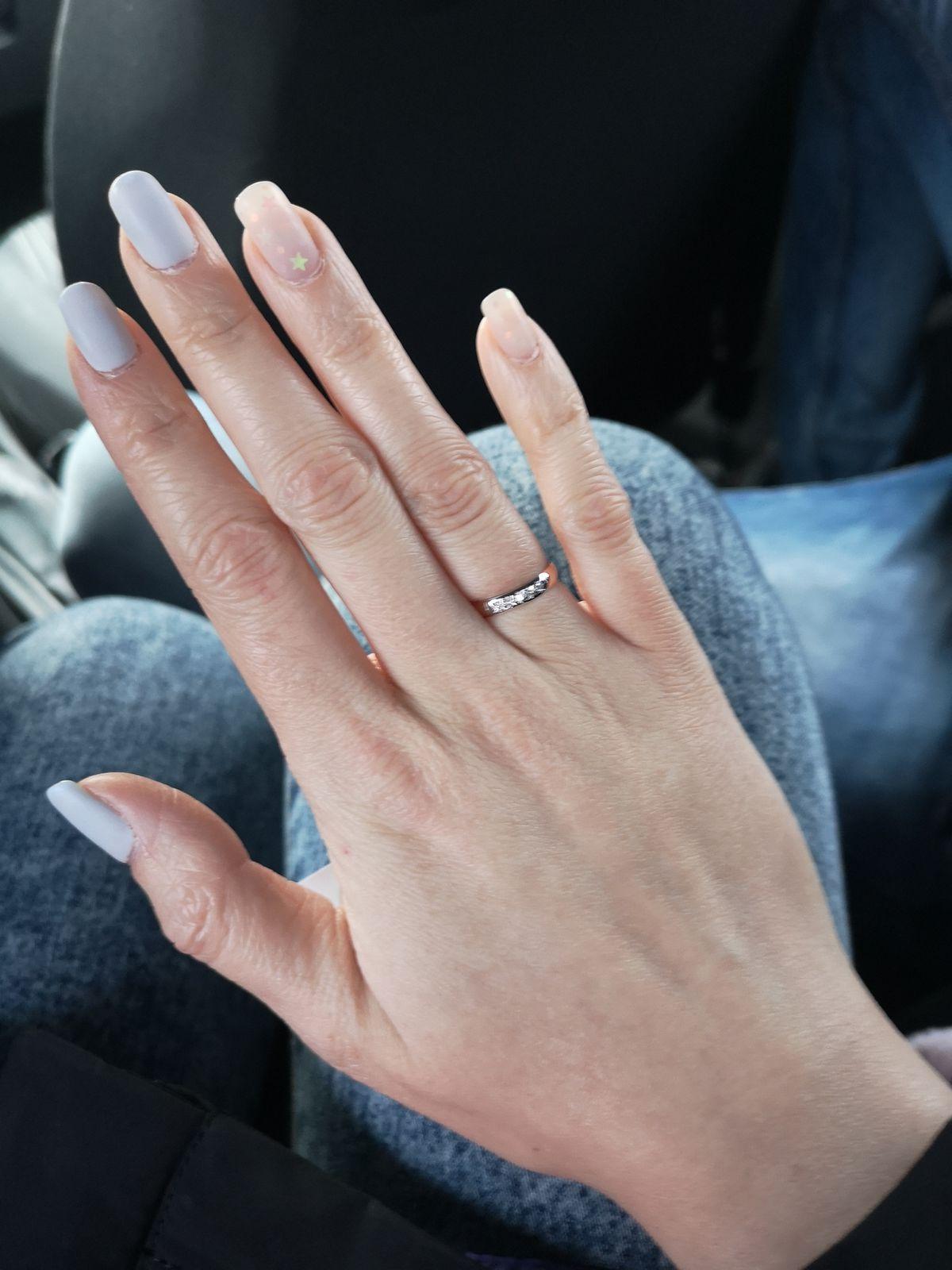 Аккуратное кольцо без лишних деталей
