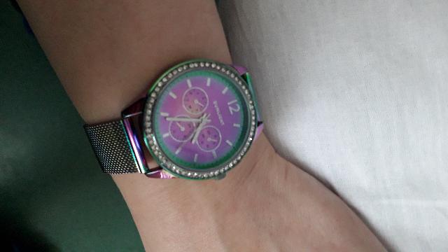 Часики цвета радуги🌈