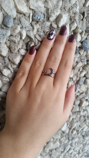 Отзыв кольцо с луной
