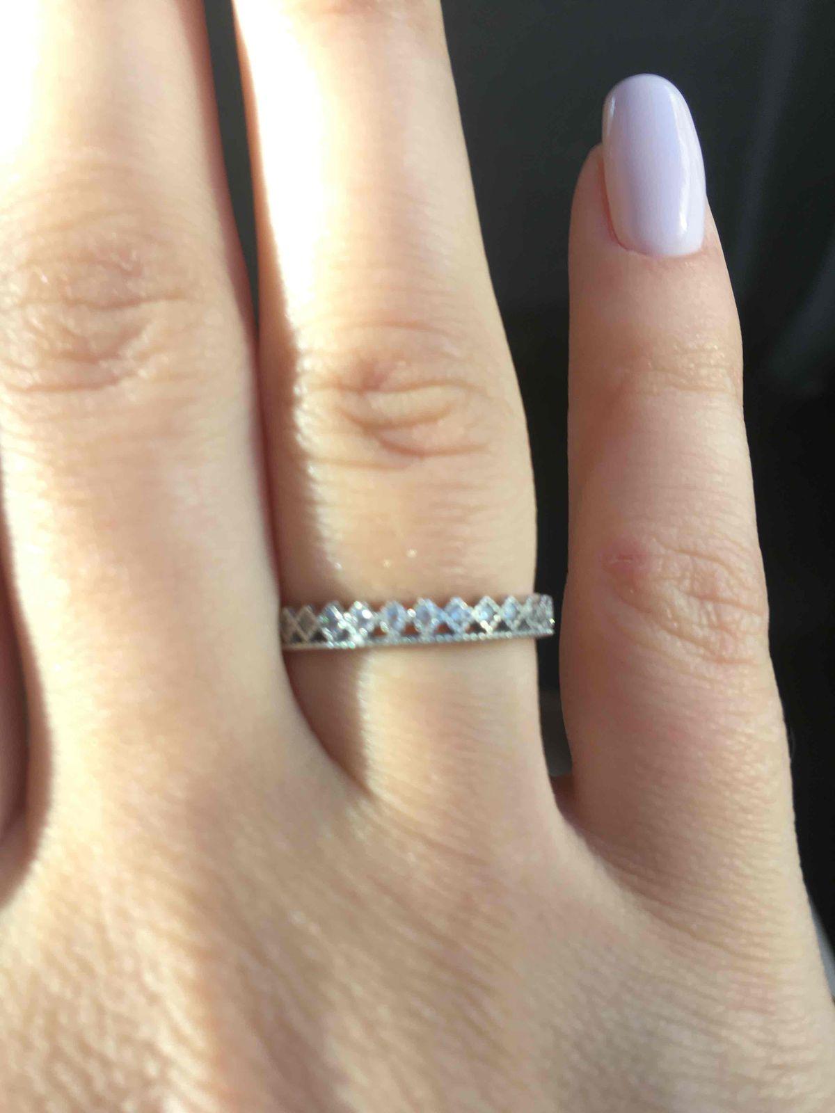 Купила кольцо, ношу с удовольствием
