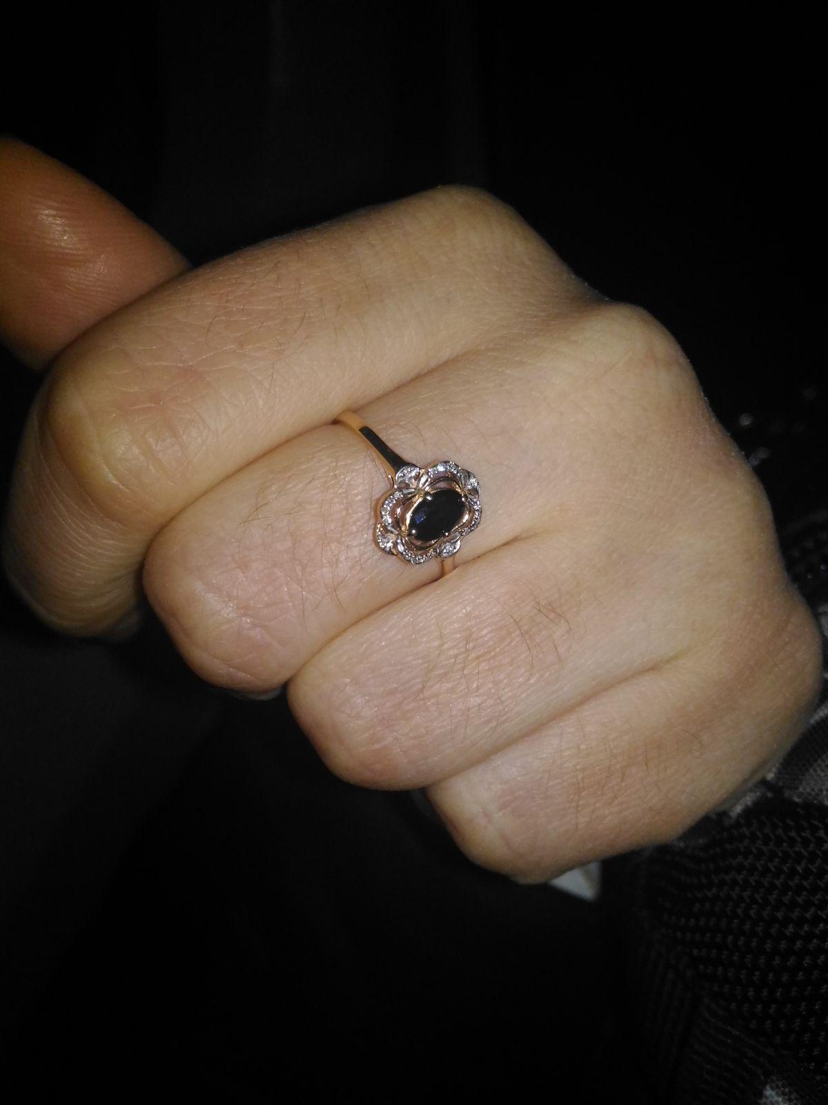 Красивое стильное кольцо