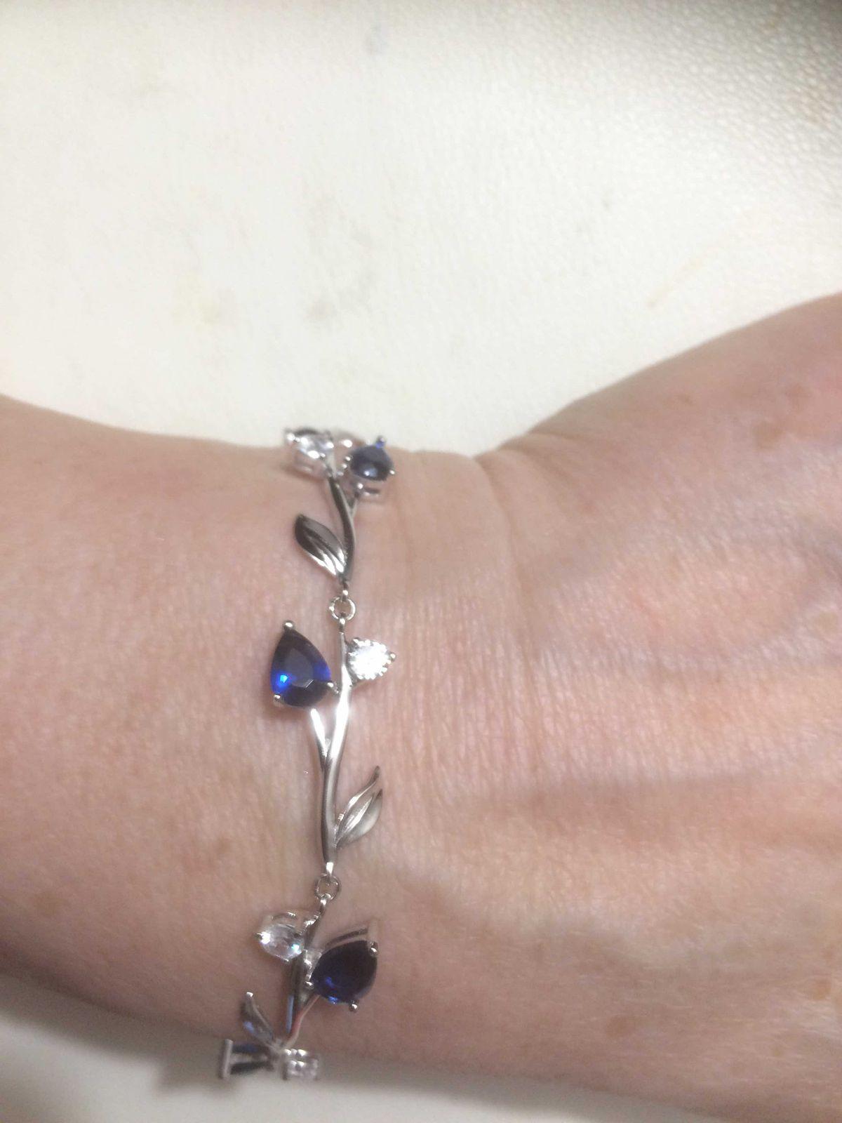 Синий цвет и серебро