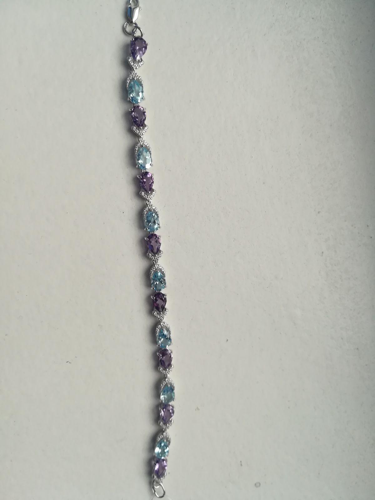 Шикарный серебрянный браслет