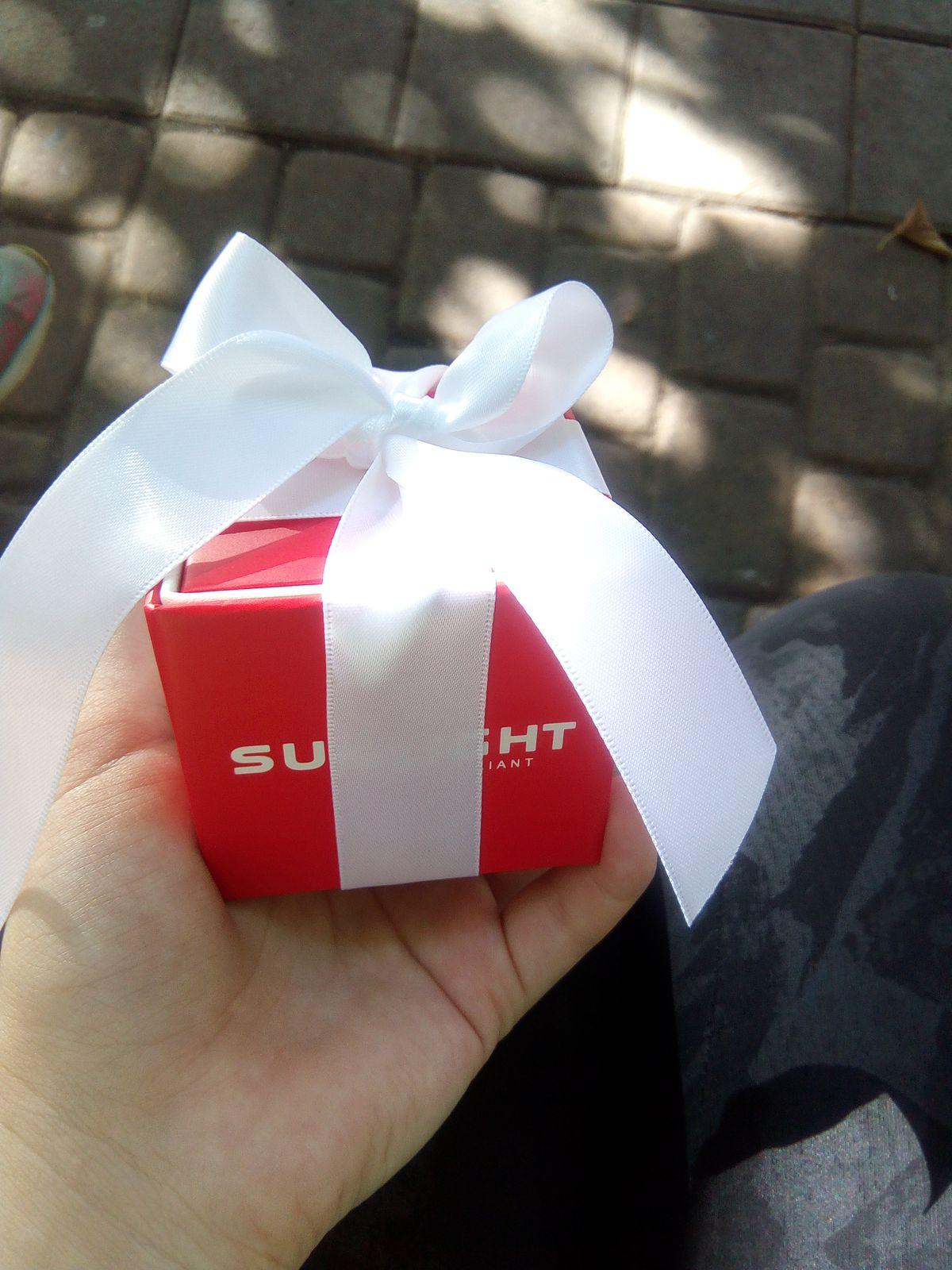 Купила своей подруге подарок на день рождения