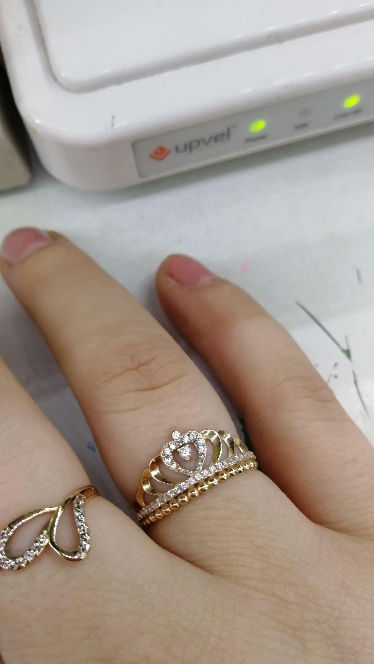 Нежное, красивое, милое кольцо