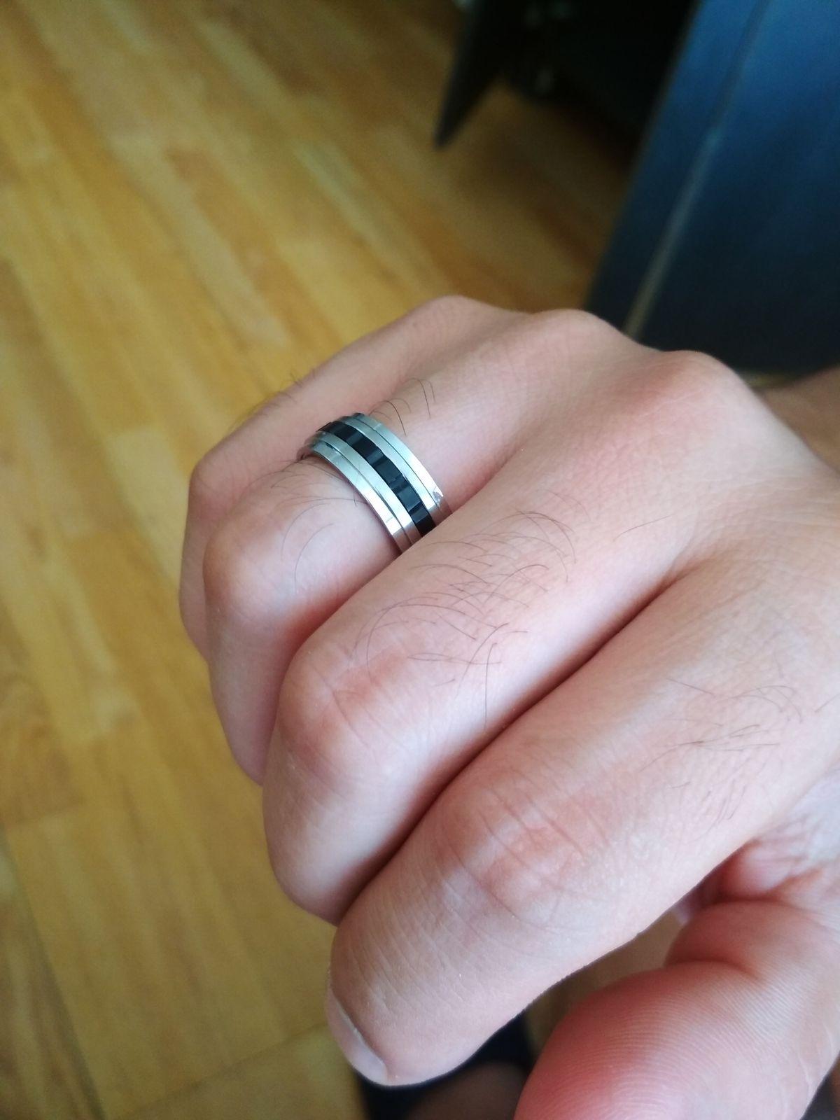 Мужское кольцо!