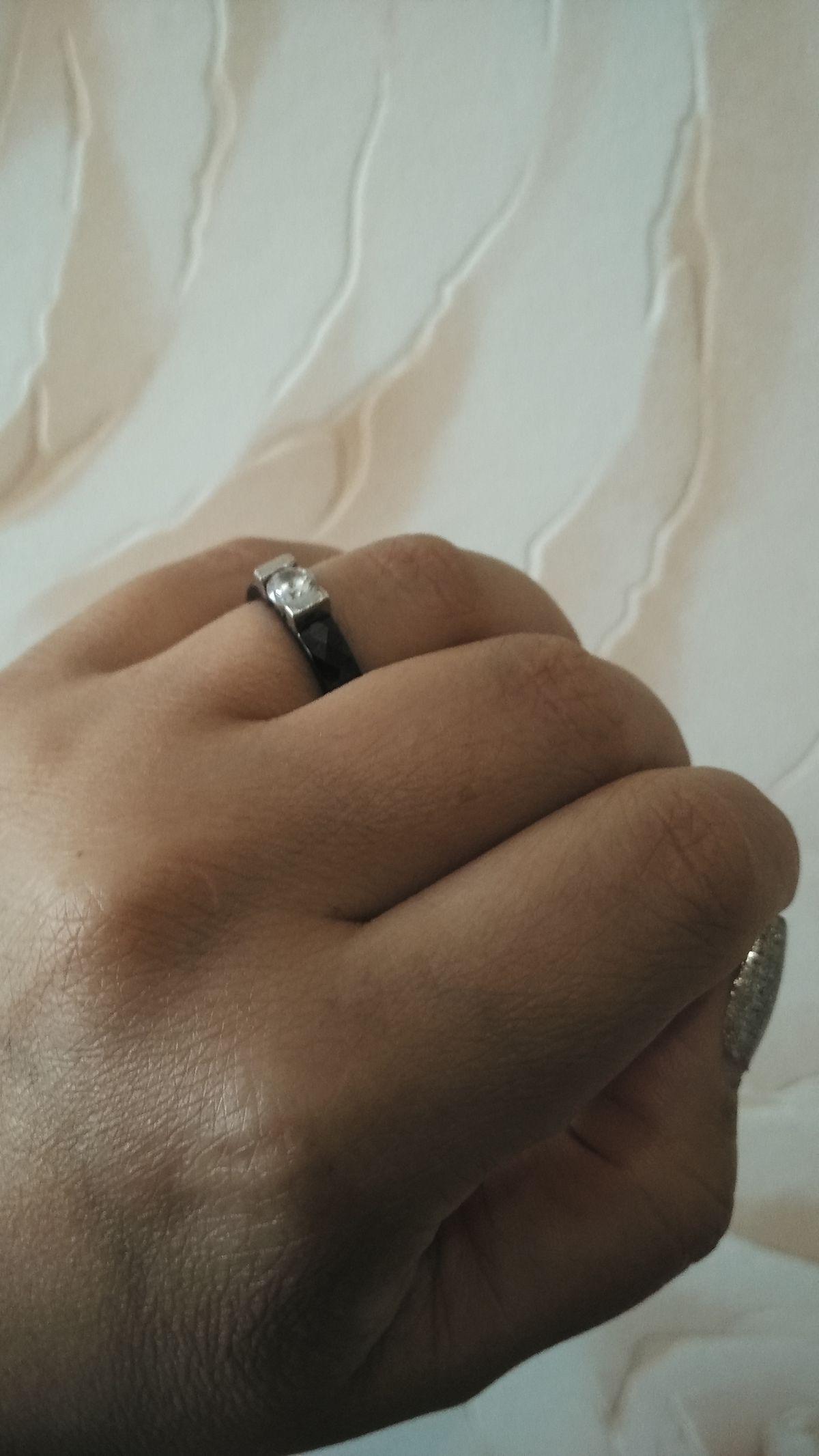 Кольцо керамика!