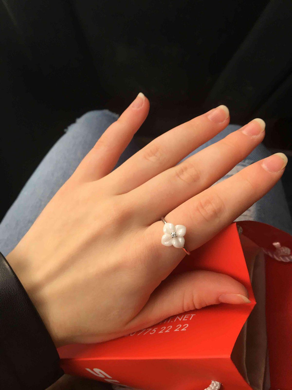 Я влюблена в это кольцо!