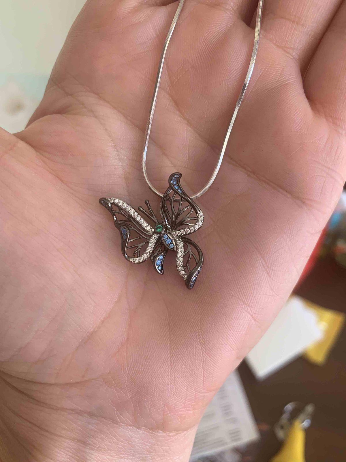 Чудесная подвеска бабочка