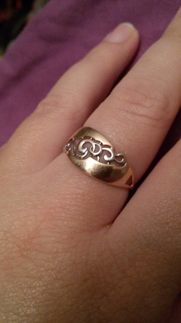 Кольцо для супруги.