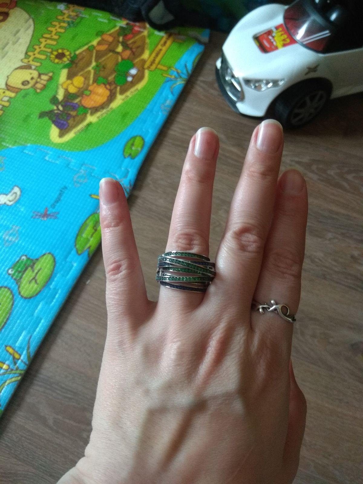 Красивое кольцо, моё самое большое разочарование.