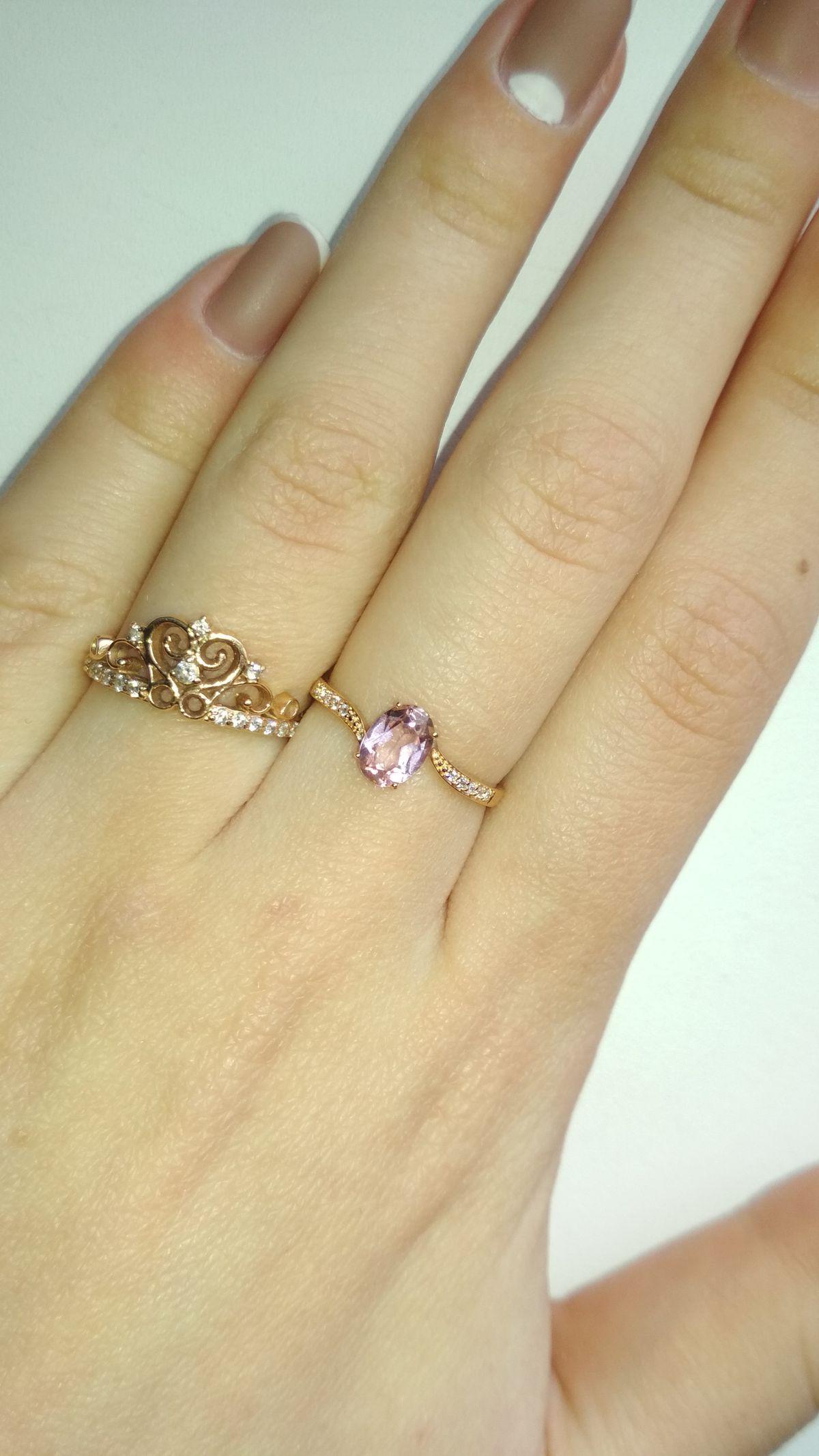 Красивое кольцо, купила со скидкой 50%