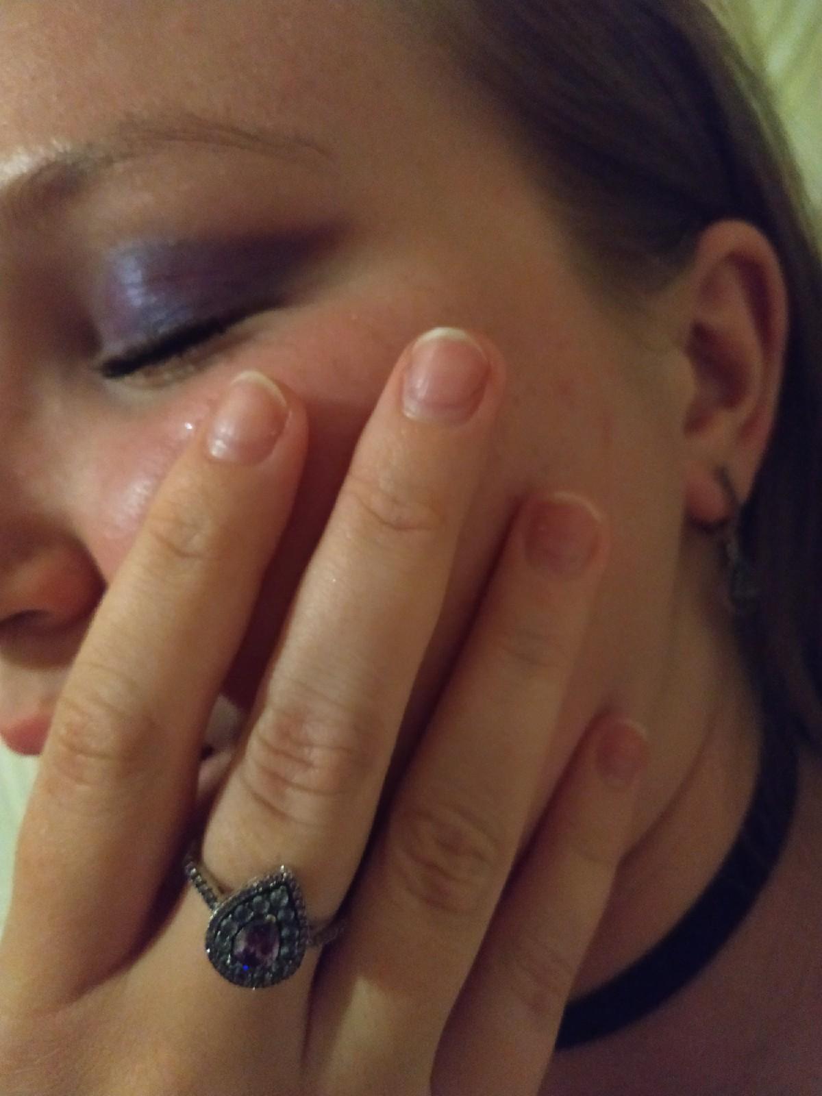 Каплевидное кольцо