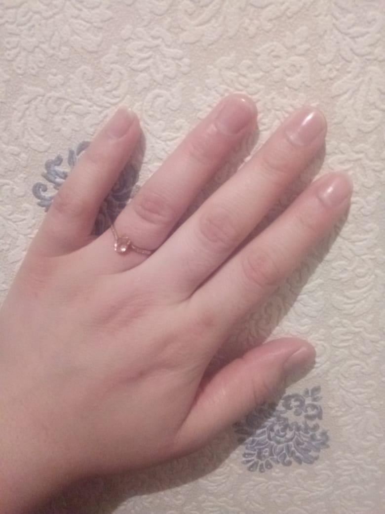 Кольцо для нежных девушек