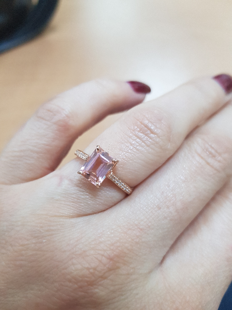 Красивое необычное кольцо