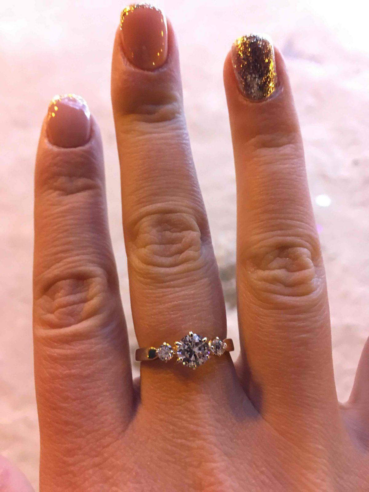 Кольцо для юной дамы