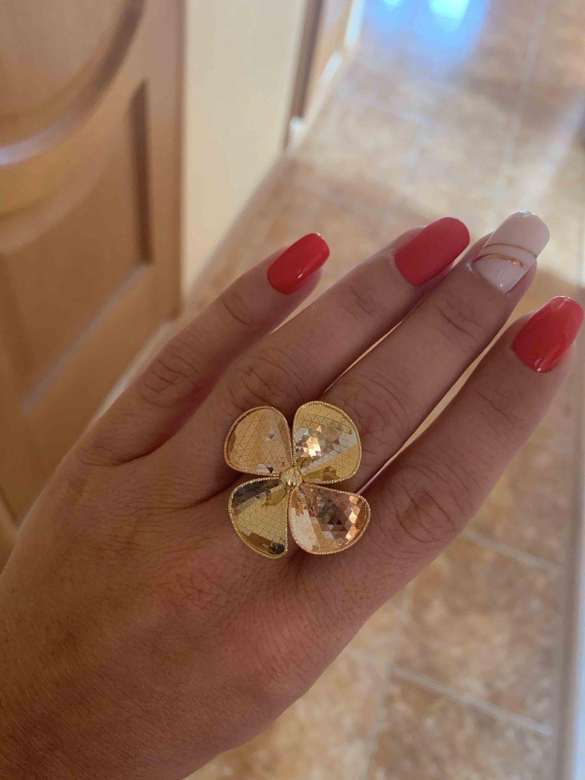 Кольцо из италии
