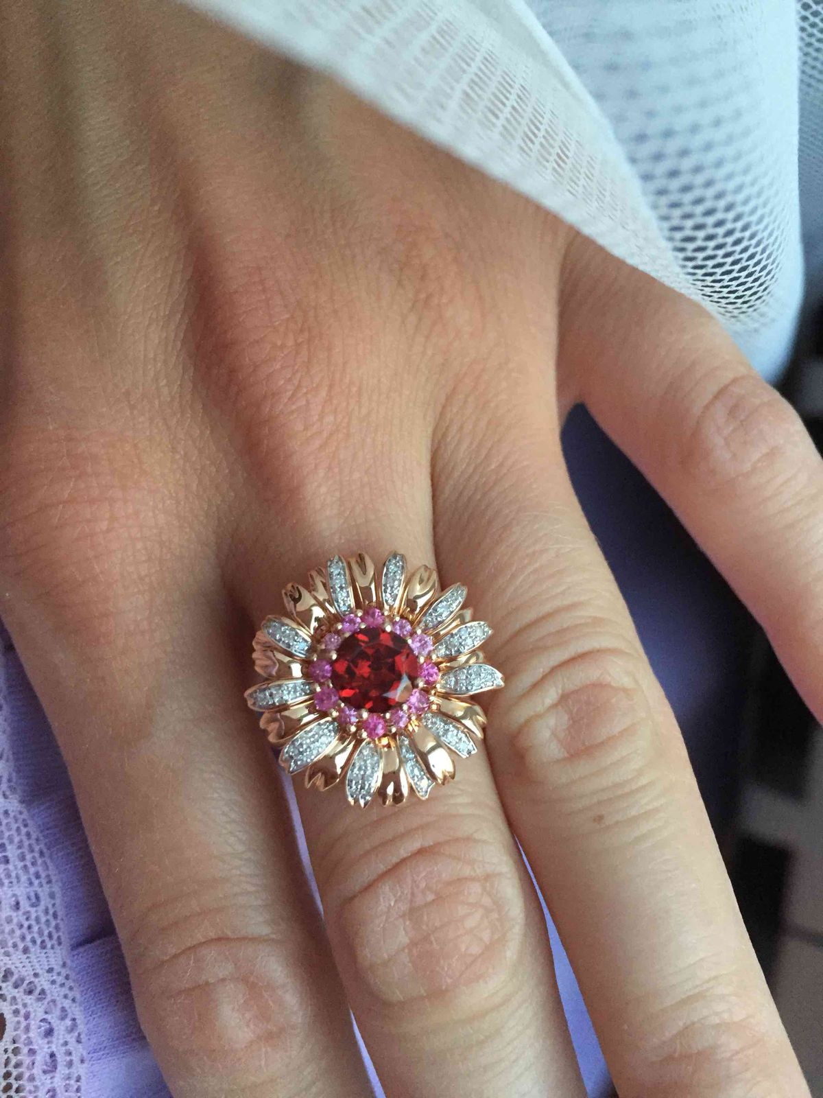 Чудесная бриллиантовая ромашка🌸